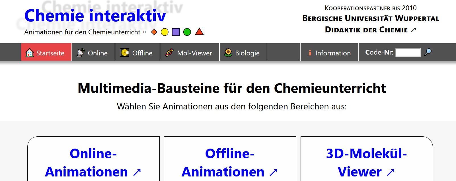 Cover: Chemie-Interaktiv.net