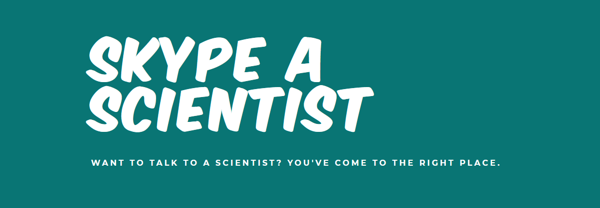 Cover: Skype a Scientist